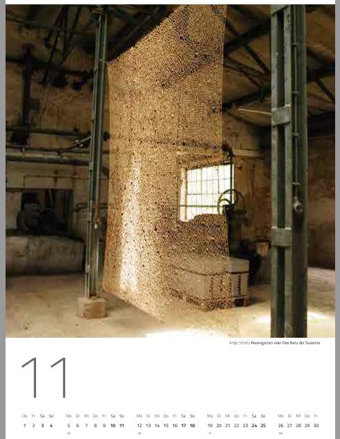 Wandkalender für 2018 von der Papierfabrik Hohenofen