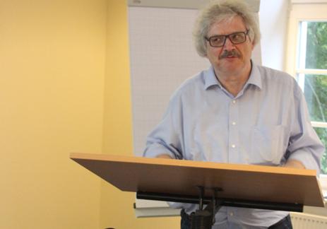 Frieder Schmidt auf der DAP-Tagung 2014